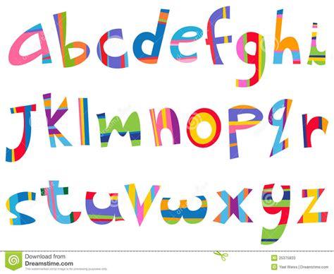 fun alphabet upper and lower case lower case fun alphabet stock vector image of cute