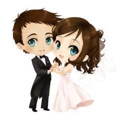 Cute animated marriage couple photo imagefully com