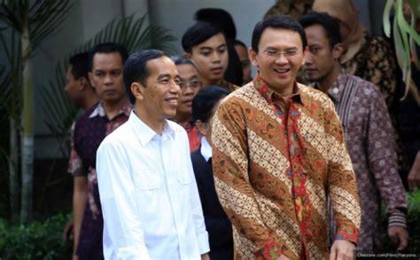 ahok jokowi kristen ahok resmi jadi gubernur dki okezone news