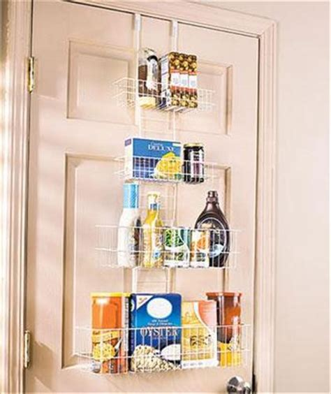 The Door Kitchen Pantry Organizer by New 4 Tier The Door Adjustable Storage Organizer Bath