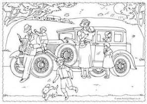 history colouring pages kids