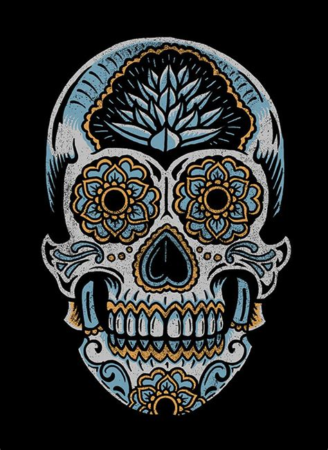 dribbble sugar skull art web2 jpg by derrick castle
