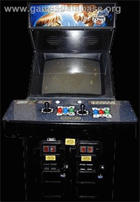 Fighter Ii Arcade Cabinet by Fighter Zero 2 Arcade Database