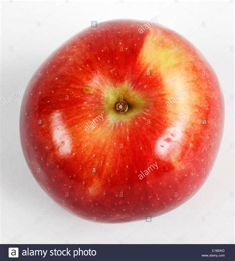 Apple Top top view of an apple stock photo 35287601 alamy