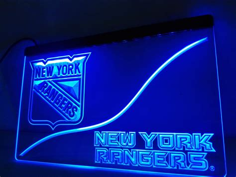 neon sign home decor ld530 new york rangers led neon light sign home decor crafts in plaques signs from home