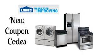 lowe s home appliances lowe s coupon codes 10 entire purchase more