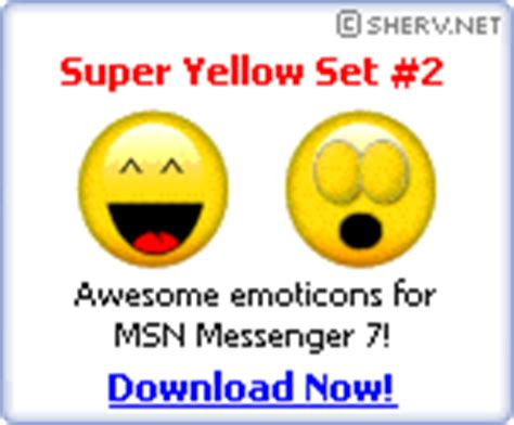 sherv net new simpsons msn pack msn emoticons display pics animated emoticons free msn animations and moving