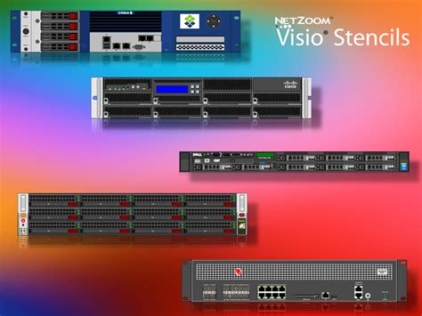 emc visio stencils netzoom visio 174 stencils library updated for data center