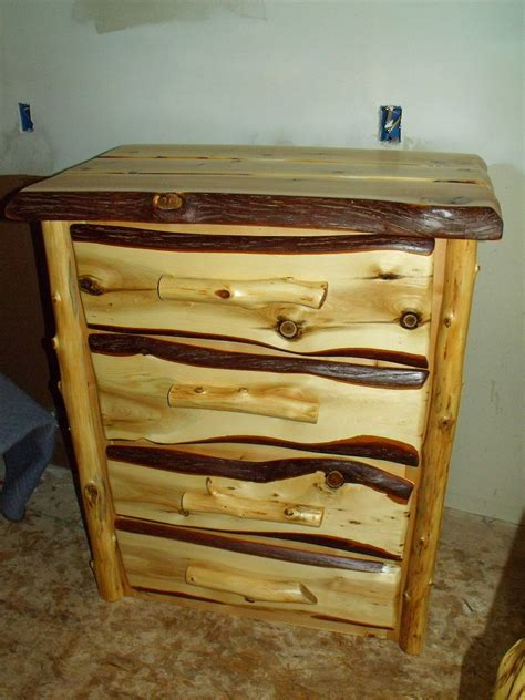 Cedar Dresser by Handcrafted Rustic Cedar Log Dressers Rustic Furniture