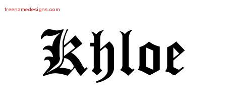 khloe tattoo font khloe archives page 2 of 2 free name designs