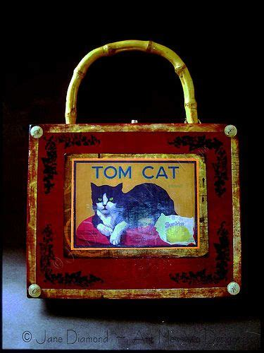 Sty Cat Papercraft - 1000 images about cigar box purse ideas on