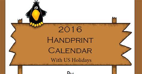 handprint calendar template 1 2 3 learn curriculum 2016 handprint calendar