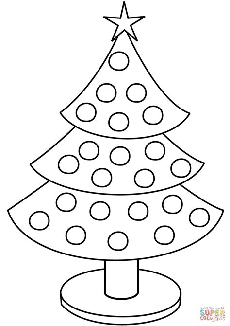 christmas tree pictures to print tree coloring page free printable coloring pages