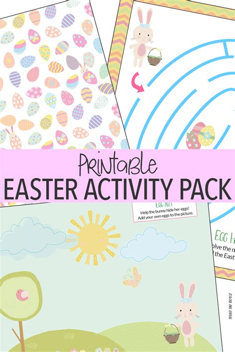 3 printable easter activities your kids will love sunny