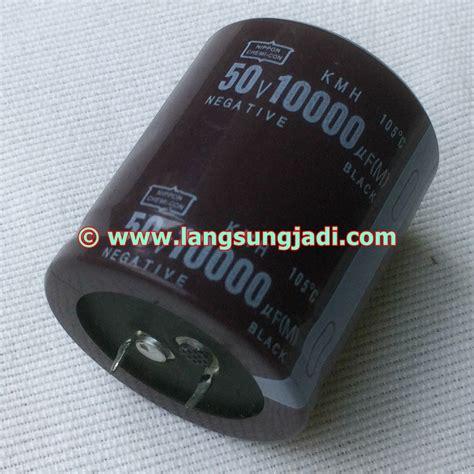 Elco 10000 Uf 50v 10 000 Uf 50v 10000uf 50v nippon chemi con kmh electrolytic capacitor