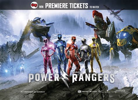 Rangers Giveaways - giveaway win yourself power rangers premiere tickets lowyat net