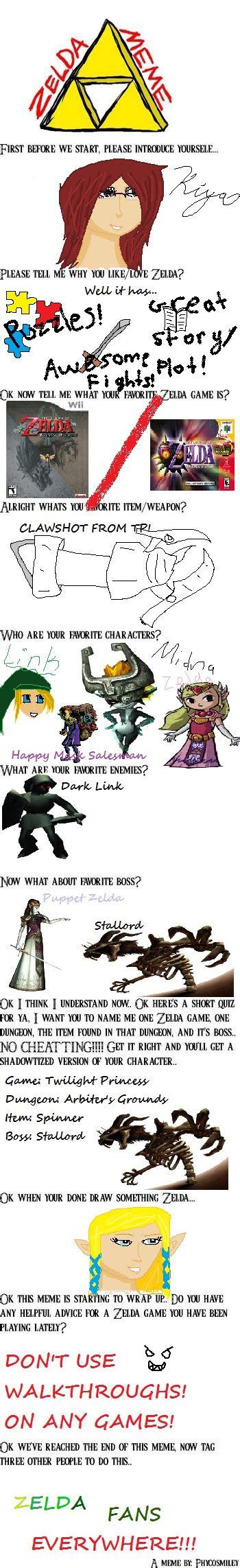 Legend Of Zelda Memes - legend of zelda meme by tetraforcelink on deviantart