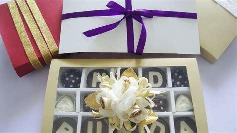 youtube membuat hiasan dari coklat cara membuat kotak coklat tutup kertas youtube