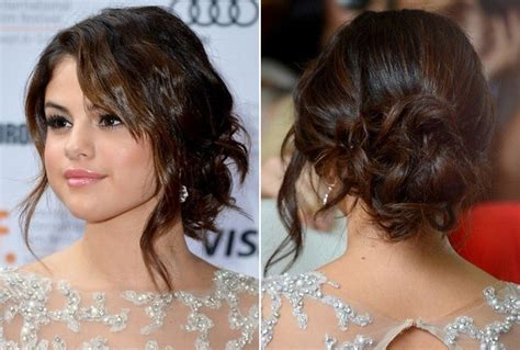 graduation hairstyles buns the most beautiful hottest updo celebrity hairstyles for