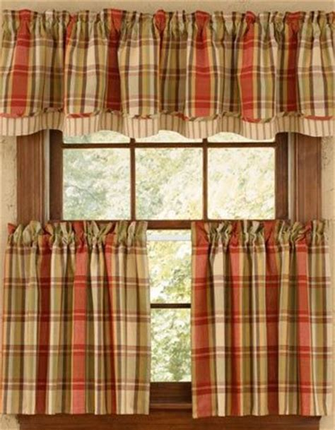 excellent kitchen curtains in a rustic style kitchen