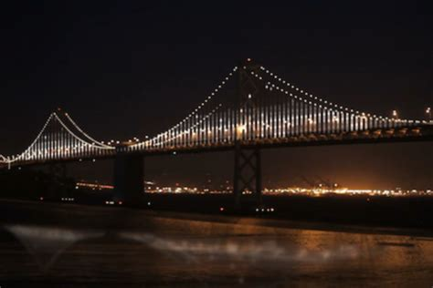 Bay Bridge Light Show by Technology 25 000 Led Light Show Coming To San Francisco Bay Bridge In March