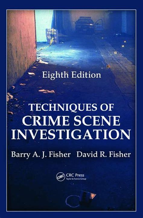 eighth edition books techniques of crime investigation eighth edition