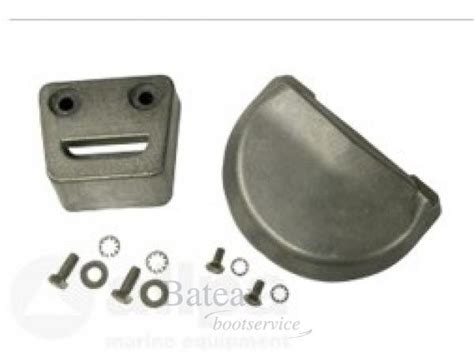 aluminium boot kit aluminium anode kit navalloy volvo sx volvo penta