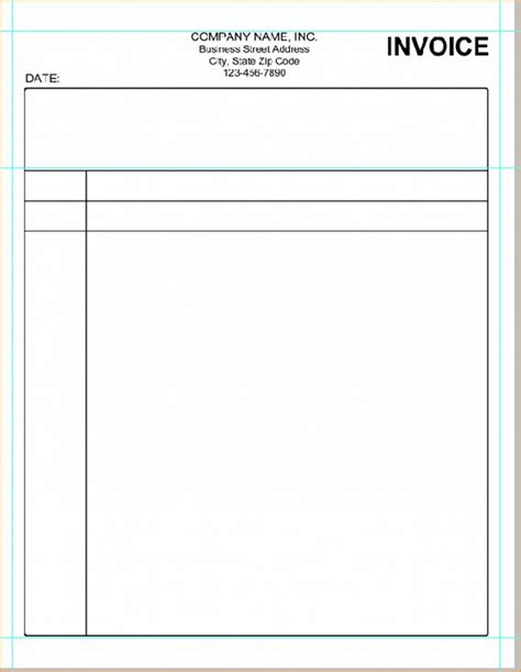 blank invoice template microsoft commonpence co