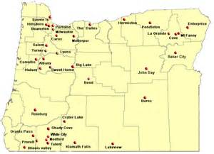 oregon map with cities driverlayer search engine
