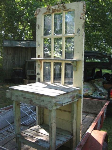 repurpose doors   garden home design garden