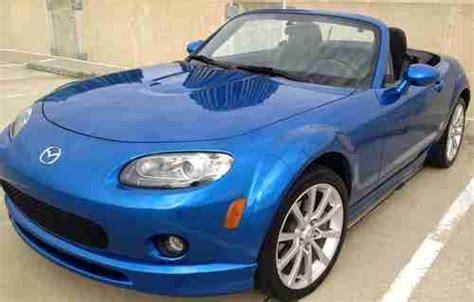 auto air conditioning repair 2006 mazda miata mx 5 parental controls find used winning blue 2006 mazda mx 5 miata 6 speed sport convertible clean title 85k in