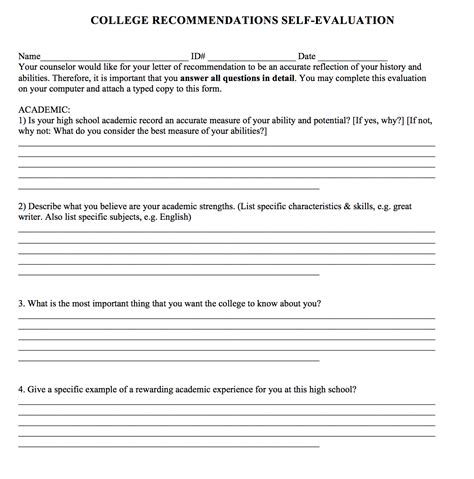 College Recommendation Letter Naviance College Letter Of Recommendation For Student Ideas Letter Of Recommendation For Student 6 Free