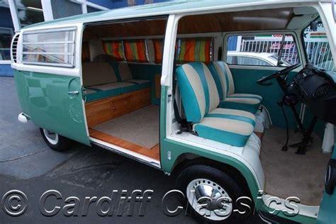 volkswagen van inside 1968 used volkswagen bus t2 at cardiff classics serving
