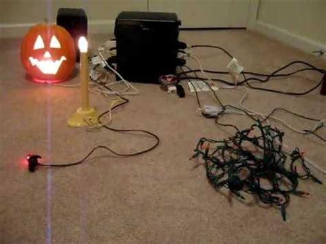 gemmy light controller gemmy light show with timer frequencies test