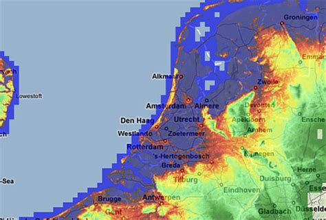 netherlands map below sea level science media centre 187 archive 187 review backs