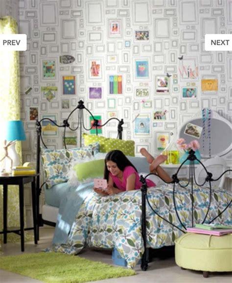 teenage girls wallpaper for bedroom blank frame creative wallpaper teen bedroom newhouseofart com blank frame creative