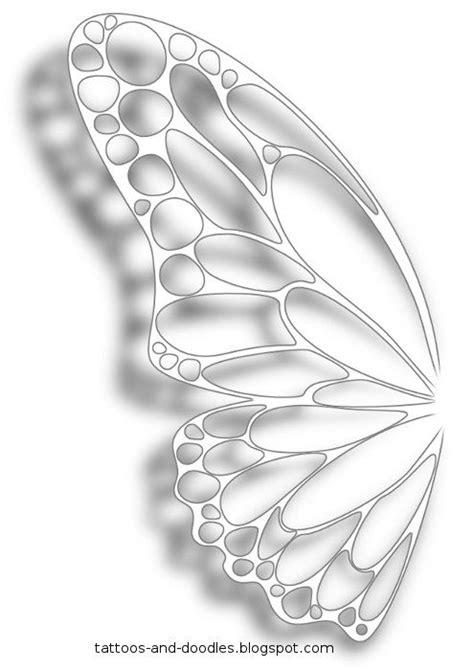 butterfly wings tattoo designs best 25 butterfly wing ideas on