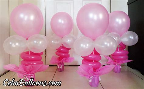 Tinkerbell Birthday Decorations Balloon Centerpieces For Tables Cebu Balloons And Party