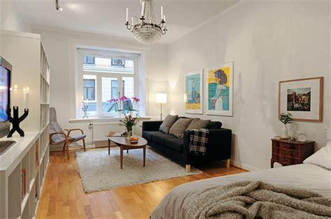 schlafzimmer und wohnzimmer in einem 30 kluge wohnideen f 252 r kleine wohnung