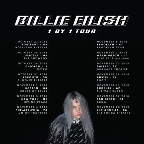 billie eilish toronto billie eilish announces headlining 1 by 1 tour music