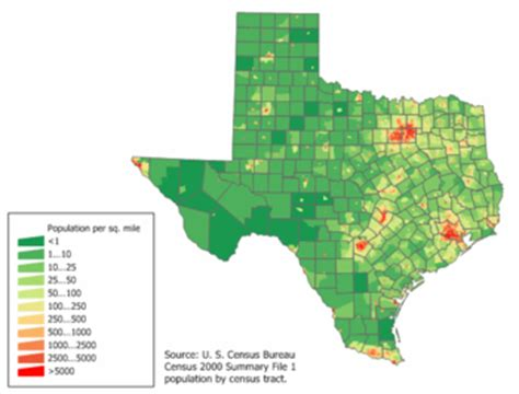 texas elevation map texas