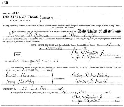 Bexar County Birth Records 25 Best Ideas About Marriage License Records On