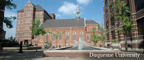 Duquesne Mba Curriculum by Masters Program Duquesne Masters Program