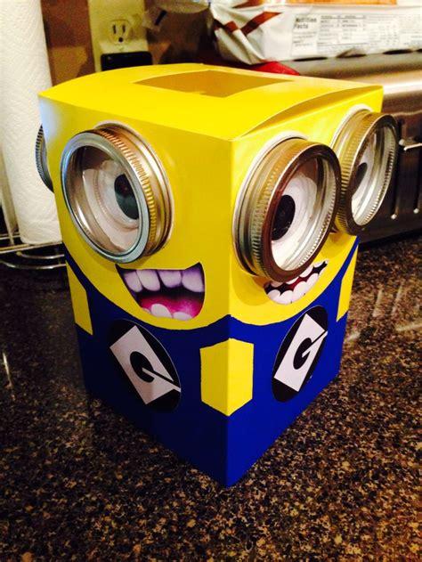 how to make a minion valentines day box best 25 minion ideas on a minion