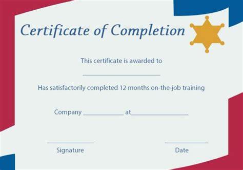 sample certificate for ojt completion fresh template certificate ojt