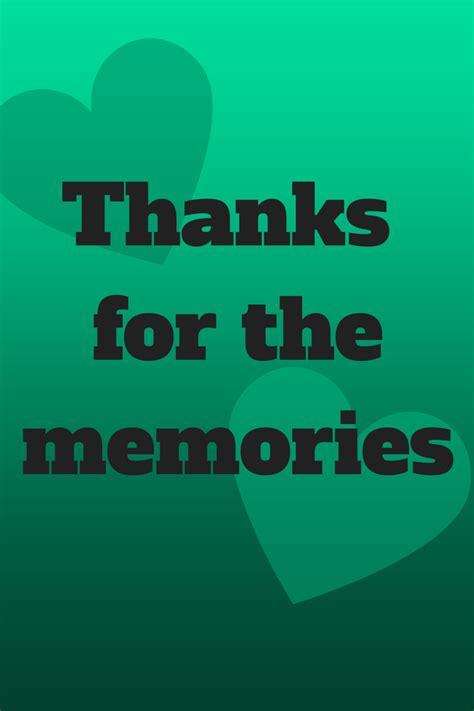 thanks for the memories thanks for the memories heena pattni