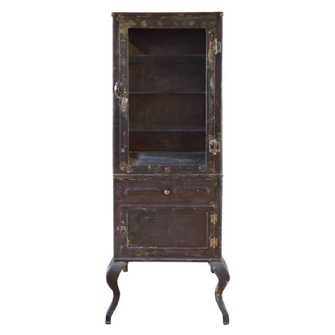 Glass Display Cabinet Sale by American Beveled Glass Display Cabinet For Sale At 1stdibs