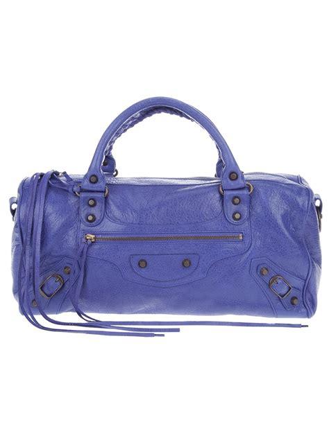 Balenciaga Twiggy by Balenciaga Twiggy Bag In Blue Lyst