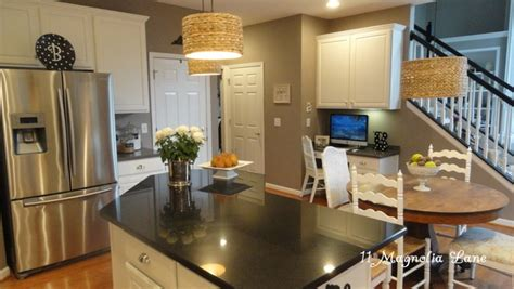 taupe kitchen cabinets and wall color kitchen redo with white painted cabinets and tile