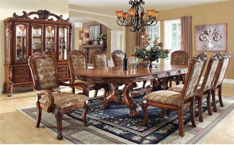 gela oak dining set von furniture  shipping